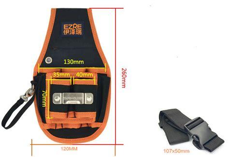 Alat Pengecil Pinggang Roller Up 2016 tugas berat nilon kanvas sabuk kulit bergulir roll up lipat taman alat tas pinggang listrik