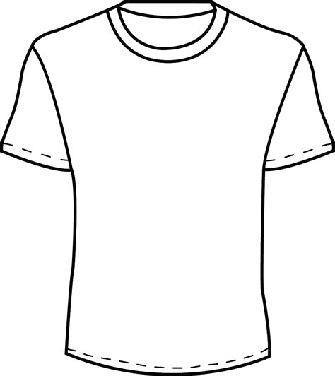 13 White T Shirt Template Images Blank White T Shirt Template Plain White T Shirt Template T Shirt Template Png