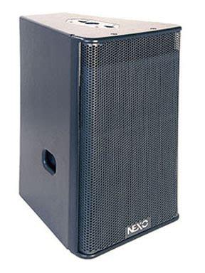 Speaker Nexo nexo geo s1230 12 2 way arrayable near fill speaker module