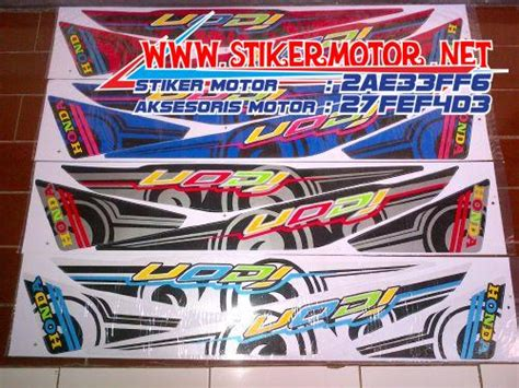 Sticker Striping Variasi Thailand Beat Fi Icon 2 stiker motor beat fi icon thailand stikermotor net