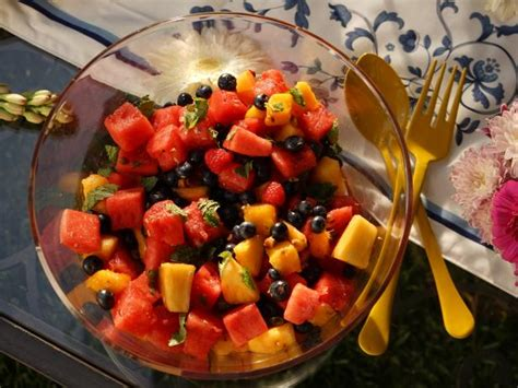 Fruit Salad Small honey fruit salad recipe heaton food network