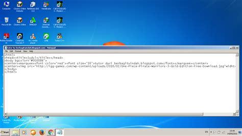 cara membuat virus mematikan cuma dengan notepad rakha s cara membuat game sederhana di notepad app soupwelcome