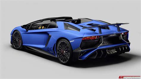 Official: 2016 Lamborghini Aventador LP750 4 SV Roadster