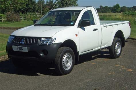 mitsubishi l200 single cab mitsubishi l200 4work single cab 4x4 pickup firs garage