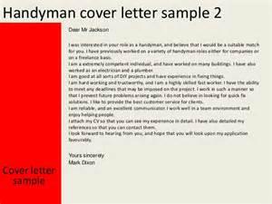 Handyman Caretaker Cover Letter by Handyman Resume Sle