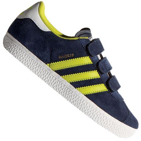 Adidas Gazele Navy Yellow adidas gazelle cf 2 c kinder sneaker b24985 navy yellow