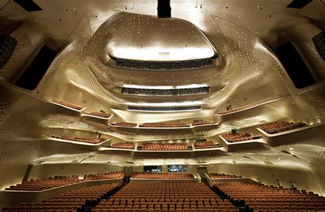 Guangzhou Opera House by Zaha Hadid S Guangzhou Opera House In Pictures And