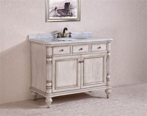 47 inch vanity 47 inch 47 inch single sink bathroom vanity in antique white