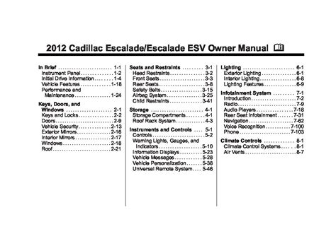 download car manuals 2012 cadillac escalade head up display service manual 2012 cadillac escalade owners manual download service manual 2012 cadillac