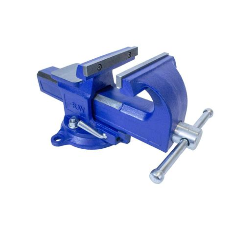 4 bench vise yost 4 in rapid action bench vise 4 rav the home depot