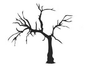 Simple Tree Silhouette Clipart Best sketch template