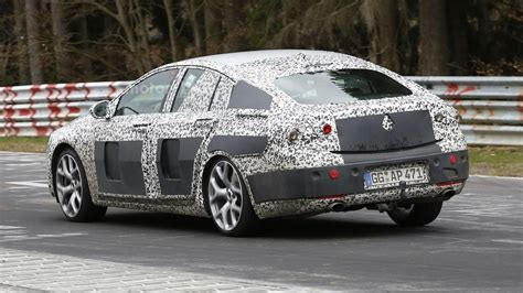 opel insignia 2017 inside 2017 opel insignia spied inside out on the n 252 rburgring