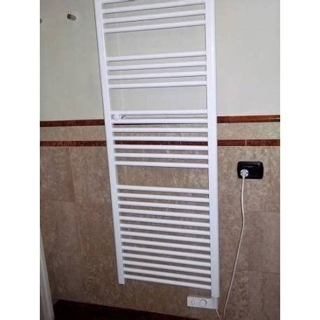scaldasalviette elettrico per bagno termoarredo scaldasalviette elettrico mod cortina bianco