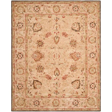 8 X 10 Ft Area Rugs Safavieh Anatolia Ivory Beige 8 Ft X 10 Ft Area Rug An512a 8 The Home Depot