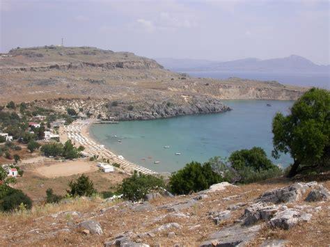 rodi turisti per caso baia di lindos viaggi vacanze e turismo turisti per caso