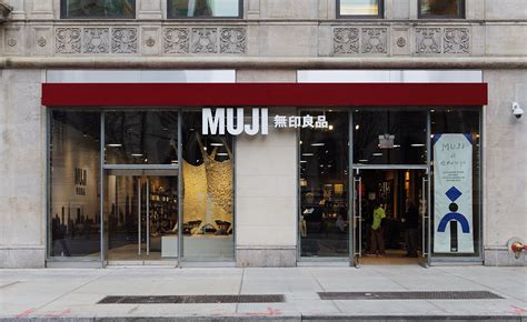 wallpaper design companies nyc muji opens its largest american store wallpaper