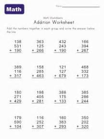 addition worksheet printables trials ireland