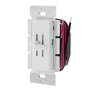 led light bulbs dimmer switches led dual slide switch and dimmer for standard 12v wall