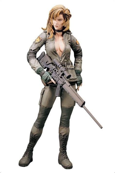 Hoodie Konami C3 metal gear solid mcfarlane toys sniper wolf spawn konami mgs series 1 figure