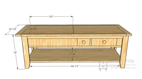 coffee table dimensions wood coffee table plans dimensions pdf plans