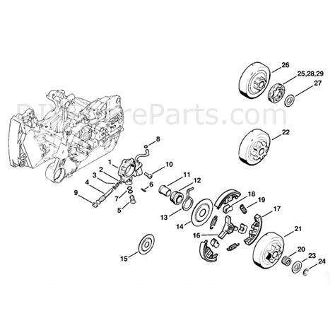 stihl ms 440 parts diagram stihl ms 440 chainsaw ms440 rz magnum parts diagram
