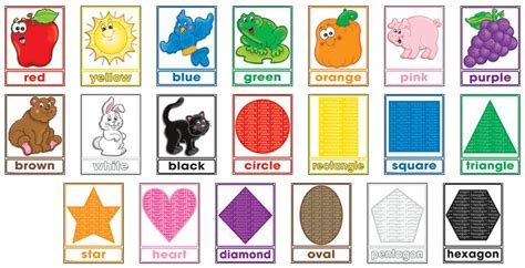 printable shapes for bulletin boards number names worksheets 187 preschool color chart free