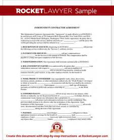 Independent Contractor Agreement Template California gallery for gt contract agreement sample