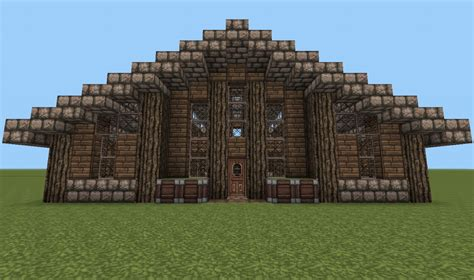 minecraft log house modern log house minecraft project