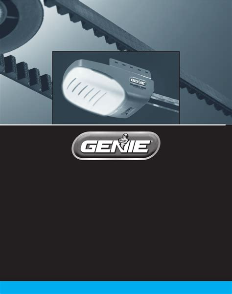 Genie Silentmax 1000 Garage Door Opener Manual by Genie Garage Door Opener 3042 User Guide Manualsonline