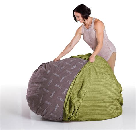 corduroy bean bag bed full size lime corduroy bean bag converts to a bed
