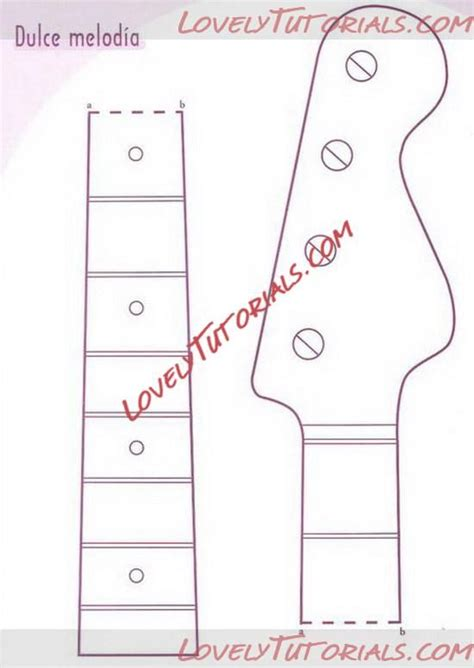 guitar templates for cakes 27 best guitarras images on guitars cold