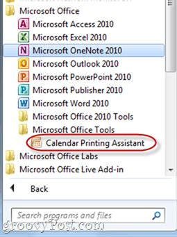 outlook calendar printing assistant templates gallery
