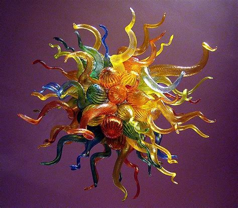 Glass Chandelier Artist Chihuly Glass