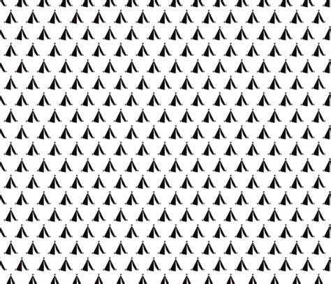 black and white geometric pattern fabric geometric black and white teepee cing tent print fabric