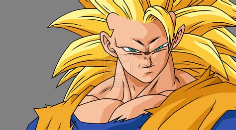 imagenes be goku goku ssj3 goku fan art 19005445 fanpop
