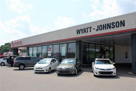 Wyatt Johnson Toyota Clarksville Tennessee Amsoil Installer Wyatt Johnson