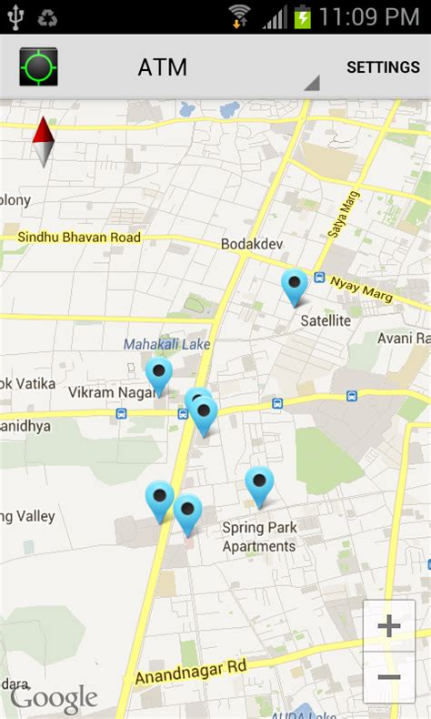 android screenshot location dive in android places api tutorial