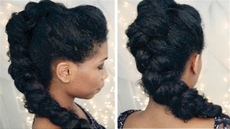 party hairstyles for normal hair selena gomez braided mohawk on natural hair party
