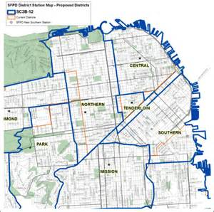 San Francisco Safety Map by Police Commission To Vote On Final Redistricting Map Next