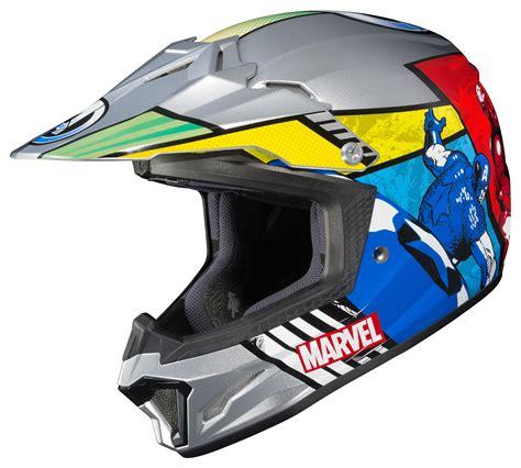 hjc motocross helmets hjc youth cl xy 2 avengers helmet 20 27 40 off