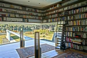 Home Library An Amazing Mansion In Madrid