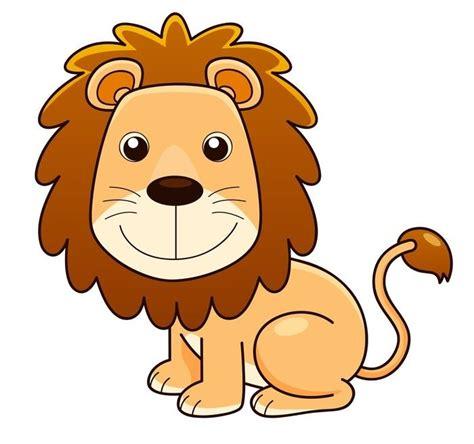 imagenes de leones kawaii vinilo pixerstick ilustraci 243 n del vector del le 243 n de