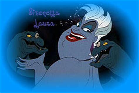 gabbiano sirenetta ursula la strega mare personaggio antagonista