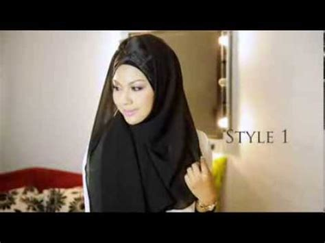 tutorial turban shawl youtube hijab turban tutorial turban shawl by ilham echenta