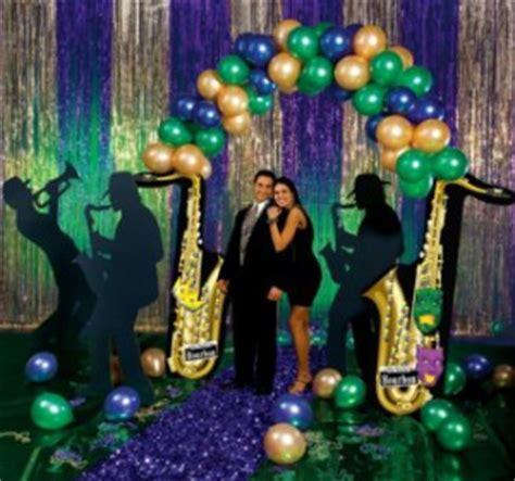 decorations for mardi gras theme mardi gras balloon decorations favors ideas
