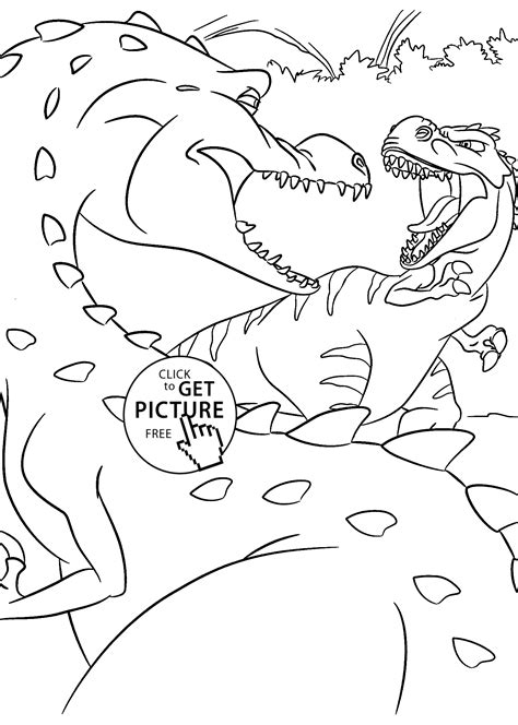 dinosaurs valentine coloring pages print coloring