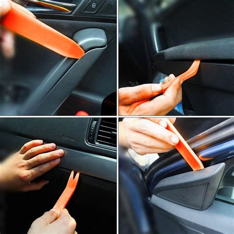 door trim and panel removal tool car door trim removal tool pry panel dash radio clip