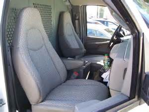 chevy express 2000 2016 iggee s leather custom seat