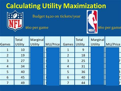 is utility maximized use the utility maximization