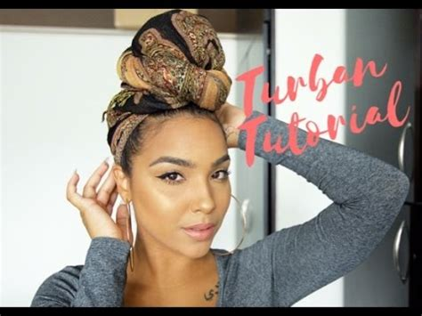 makeup tutorial girl slams head the easiest headwrap turban tutorial youtube